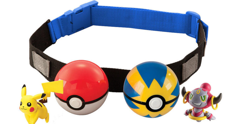 Pokemon Clip N Carry Poke Ball Cross-Belt