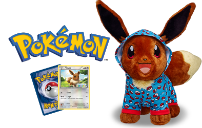 Eevee Gets The Build-a-bear Treatment
